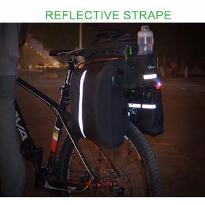 Image 5 - ROCKBROS Xe Đạp Đệm Lót Túi Phía Sau Ba Lô Thân Cây Đi Xe Đạp MTB Chu Kỳ Túi Xe Đạp Pannier Gói Công Suất Lớn Phụ Kiện Xe Đạp