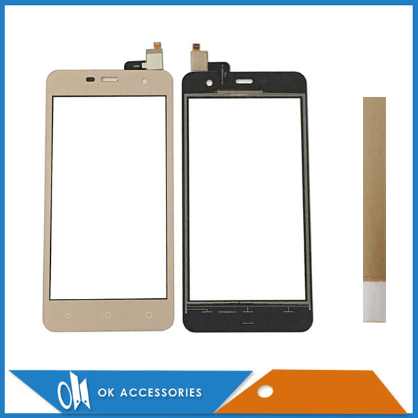 For <font><b>Prestigio</b></font> Muze G3 Lte <font><b>PSP3511</b></font> Duo Touch Screen Digitizer Panel Replacement Glass Touchscreen With Tape Black Gold image