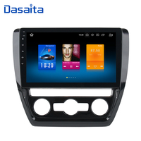 Dasaita 10,2 Android 8,0 автомобиль gps радио для VW Jetta 2011 2015 с Octa Core 4 ГБ + 32 ГБ Авто Стерео Navi мультимедиа