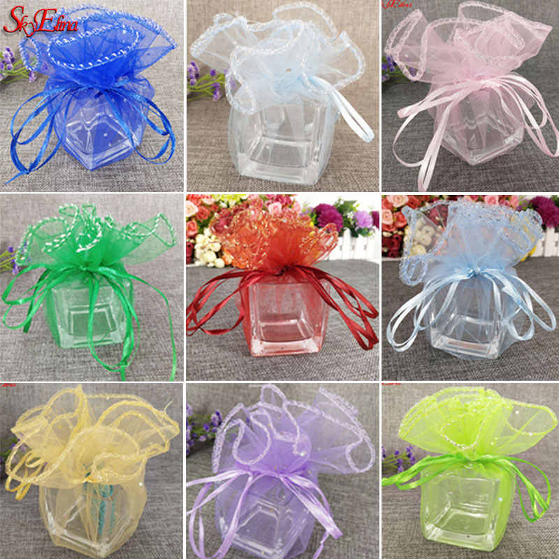 SALE/% 20 Organza Bags Bag Guest Gifts Almond Wedding Baptism Communion