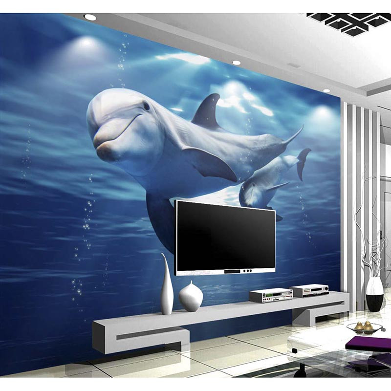 3d floor sticker diy wallpaper custom pvc murals bathroom for Room decor 3d self adhesive wallpaper