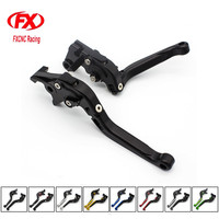 FX CNC Motorcycles Frosted Brake Clutch Lever Folding Extending Levers For HONDA CBR500R CB500F X 2013