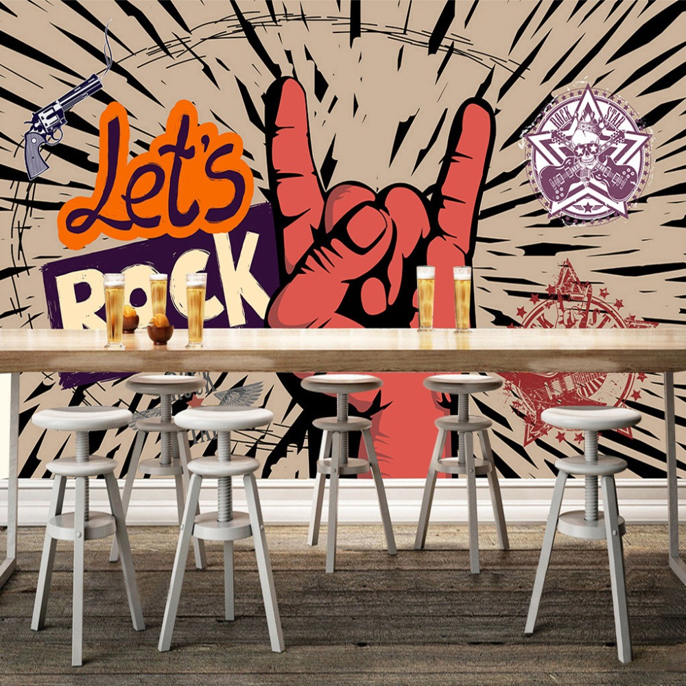 Cool Wallpaper Music Painting - Custom-Photo-Wallpaper-Rock-Music-Art-Mural-KTV-Bar-Cafe-Wall-Decorative-Painting-Paper-Poster-Wall  You Should Have_45430.jpg