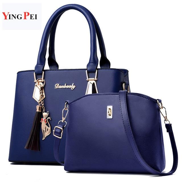 Mulheres saco de Moda bolsas bolsa de Grife de Luxo das mulheres Casuais sacos de Ombro sacos novos para as mulheres Composite bag bolsos mujer