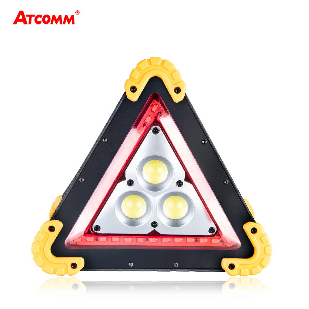 30w 50w Cob Led Warning Sign Lights 4 Modes Ip44 Waterproof Expressway Emergency Strobe Lamp Lights & Lighting