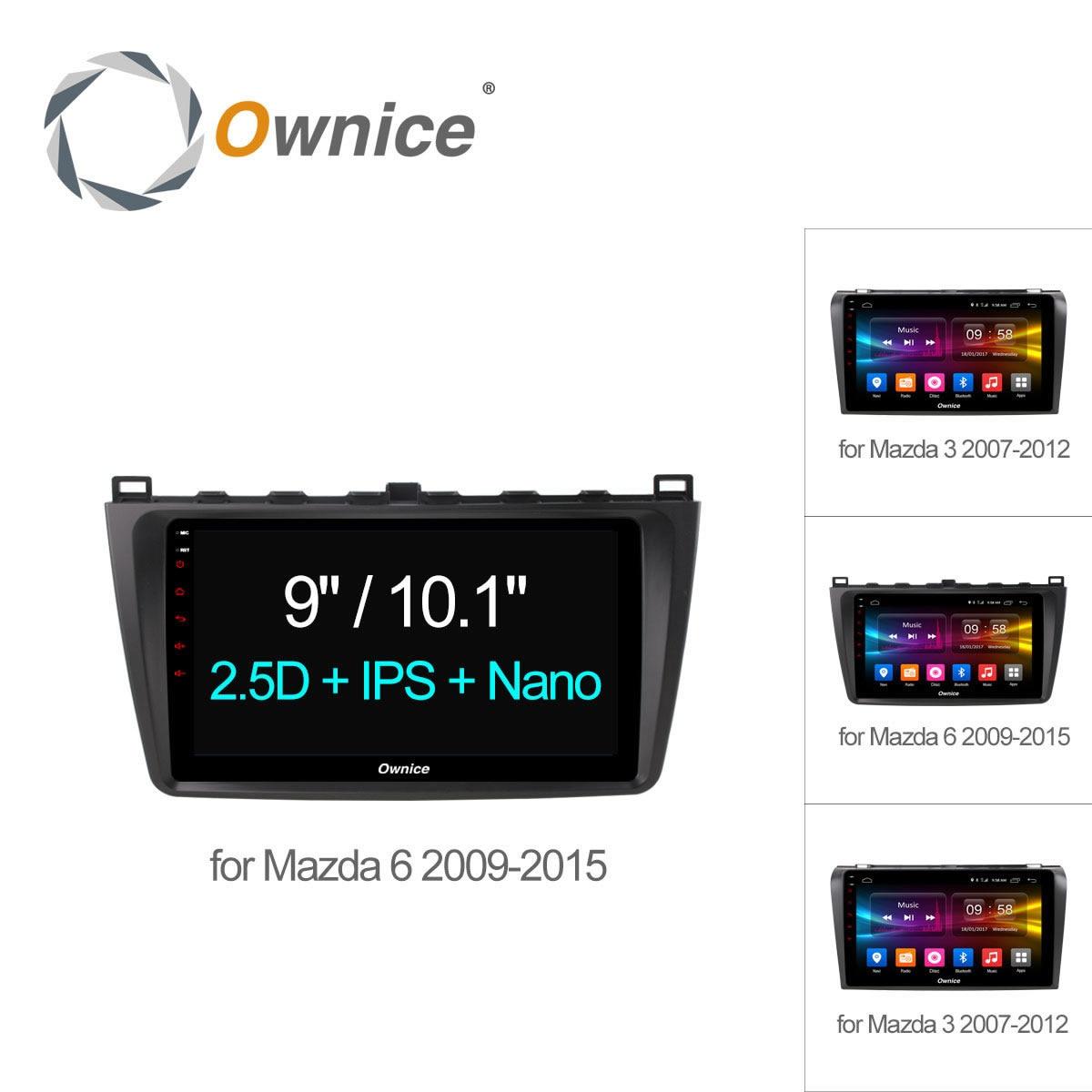 9 ownice C500 + Android 6.0 dvd-плеер автомобиля GPS для Mazda 3 Mazda 6 Авторадио Мультимедиа Восьмиядерный 4 г LTE 2 ГБ + 32 ГБ dab + Радио RDS