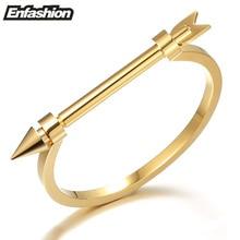 Enfashion Стрелка браслет noeud браслет цвета золота браслет для Для женщин винт Браслеты на запястье манжетой Браслеты Pulseiras
