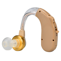 Hot Sale Adjustable Loudspeaker Behind The Ear Sound Amplifier Tone Hearing Aids Boost Sound Old People