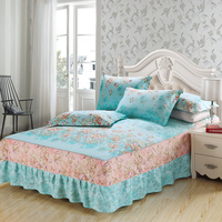 Lovely princess bedding for adult children Bed Covers Mattress Cover skirts Sheet pillows 100% Cotton twin full queen king size