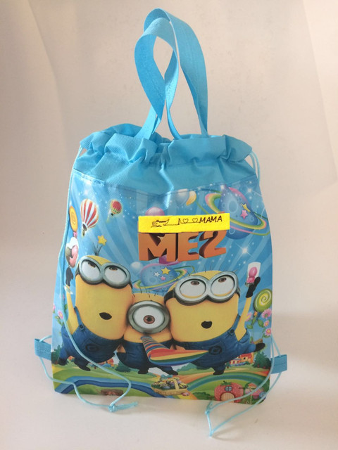 Toddler Backpack Minion Tote School Bag For Runner Waterproof Shoe Kids Gift Birthday Stuff Supplies