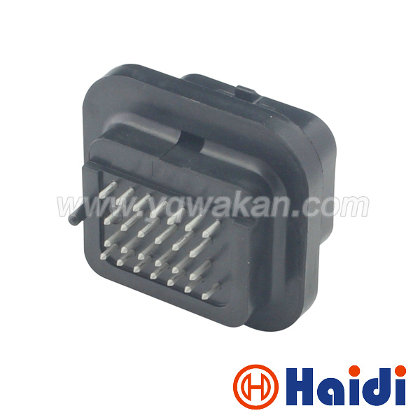 Free shipping 1set 26pin male part for 3-1437290-7 26way Straight needle auto computer ECU connector 6437288-6 free delivery car engine computer board ecu 0261208075