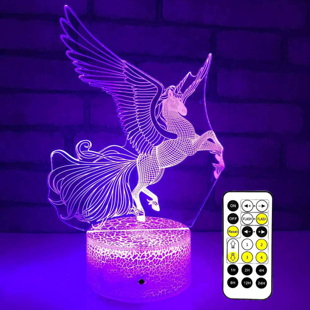 Horse 3d Night Lamp Creative Novelty Electronic Gift Lamp Lovely cartoon childrens toys Led Night Light Novelty Usb Led LampHorse 3d Night Lamp Creative Novelty Electronic Gift Lamp Lovely cartoon childrens toys Led Night Light Novelty Usb Led Lamp