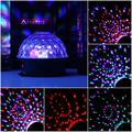 stage lamp geluid controle 6 kleuren magic crystal ball disco light party verlichting 110-220 v laserlicht kerst laser p