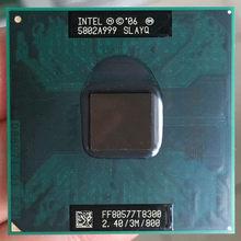Intel processador para laptop, processador para cpu intel core duo 2 t8300 pga 478 cpu em funcionamento total