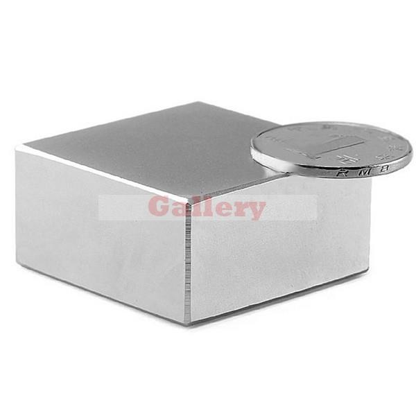 Hot Sale Special Offer Imanes 2 Pcs Lot N52 Block Super Strong Rare Earth Neodymium Magnets 40x40x20mm sale special offer iman neodimio n52 block super strong rare earth neodymium magnets 40x40x20mm iman neodimio iman neodimio 50mm