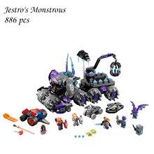 Blocos de construção de 14031 Compatível com lego Cavaleiros NEXOE Jestro é Um Monstro Monstro 70352 Modelo Brinquedos Educativos Para Crianças