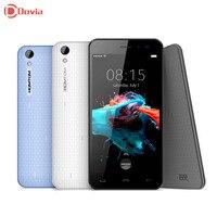 HOMTOM MT6580 HT16 3G Smartphone de 5.0 Pulgadas Android 6.0 Quad Core Teléfono celular 1G RAM 8G ROM 3000 mAh 5.0MP Cámara Del Teléfono Móvil