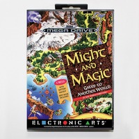 Might And Magic Gates To Anothe Rworld 16 Bit SEGA MD Game Card With Retail Box