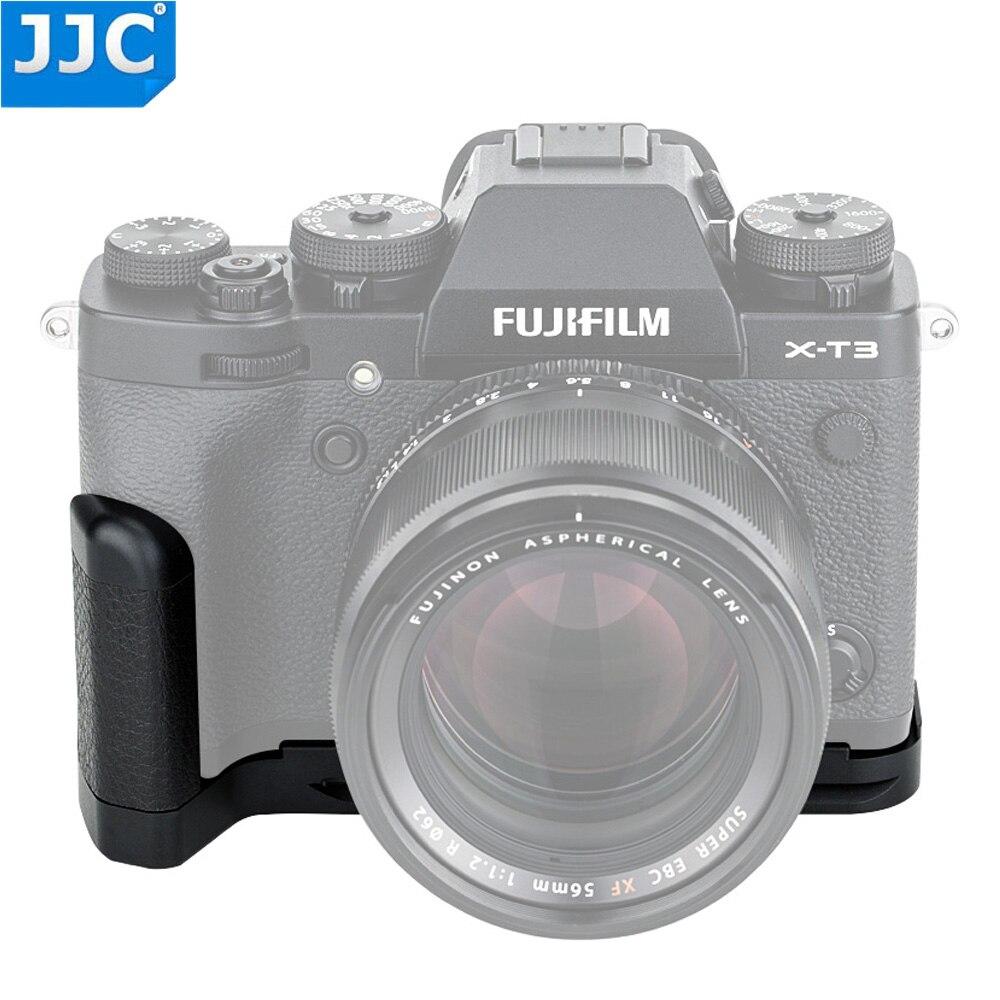 JJC HG-XT3 poignée en alliage d'aluminium pour appareil photo Fujifilm X-T3/X-T2 remplace Fujifilm MHG-XT3/MHG-XT2