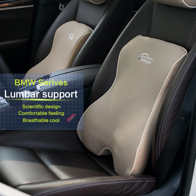 Car Seat Covers W Lumbar Support