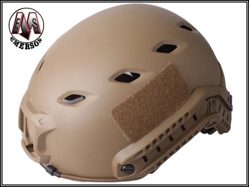 Base Jump Helmet EMERSON FAST Helmet BJ TYPE protective Adjustable helmet Dark Earth EM5659A in Helmets from Sports Entertainment