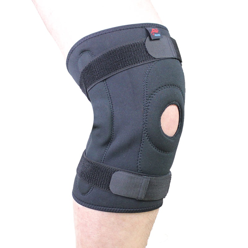 Protezione del ginocchio Con Doppio In Acciaio Piastra di Protezione del Ginocchio Ginocchiera Knee Pads Supporto Guardia Ginocchiera ginocchiere rodillera