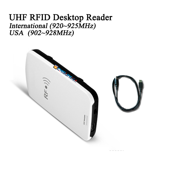 GEN2 USB portable UHF RFID desktop reader writer identify tags integrated reader the portable renaissance reader