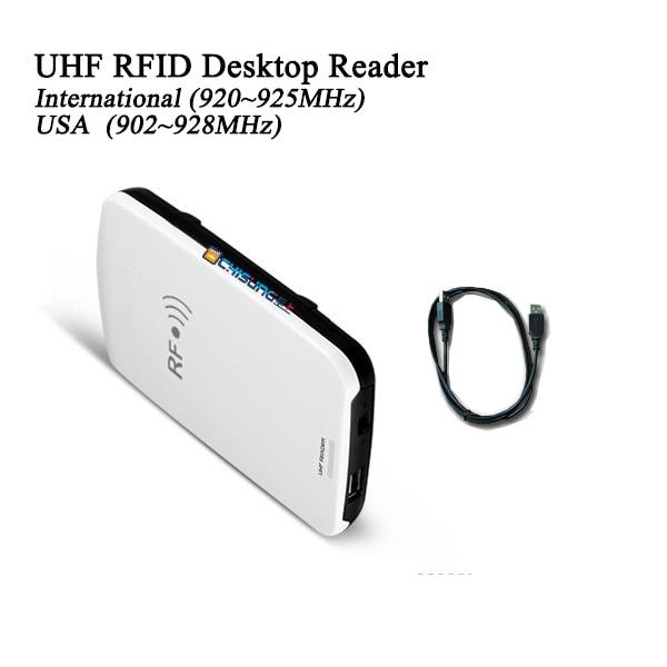 GEN2 USB портативный UHF RFID reader desktop писатель определить метки Интегрированный Ридер