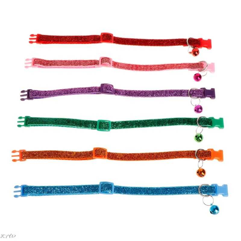 Pet Collar Luminous Shiny Dog Puppy Cat Kitten Anti Lost Necklace Strap Adjustable Belt Buckle Supplies Accessories Decoration