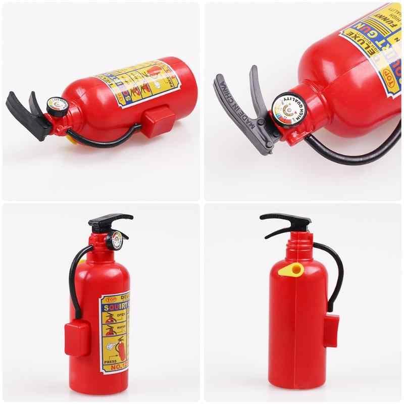 Yangın söndürücü Oyuncak Plastik DIY Su Tabancası Mini Sprey Çocuk Egzersiz Oyuncaklar