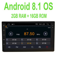 in dash 1080P optional OBD2 DAB+/3G/4G Android 8.1 2GB RAM Car Stereo Double 2 Din 7 inch Full touch Screen Car PC Tablet FM/AM