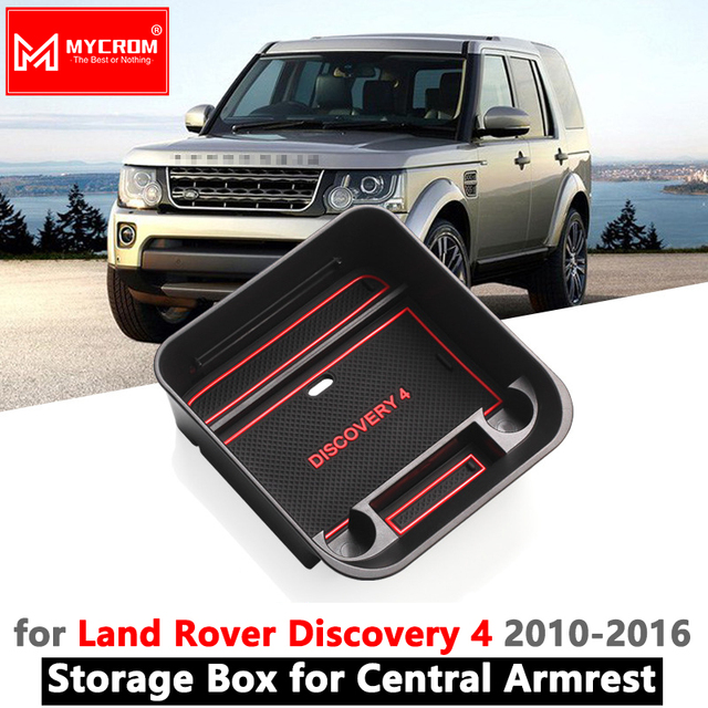 Armrest Box Storage Stowing Tidying for Land Rover Discovery 4 L319 LR4 2010 2011 2012 2015 2016 Car Organizer Accessories
