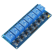 4Pcs 8 Channel 5V Active Low Relay Module Board for Arduino PIC AVR MCU DSP ARM