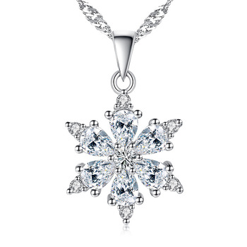 100% 925 sterling silver fashion shiny crystal snowflake ladies`pendant necklace jewelry women gift no fade Anti allergy 100% 925 sterling silver fashion cute little honeybee red crystal ladies stud earrings jewelry anti allergy women birthday gift