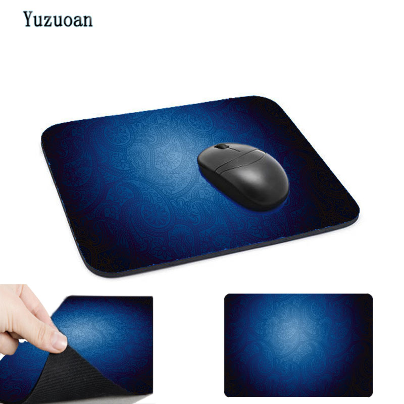Yuzuoan Best-selling Fresh Beautiful Pattern Durable Rubber Mouse Pad Can Be Used for Home Computer Tea Cup Mat Affiliated Gift
