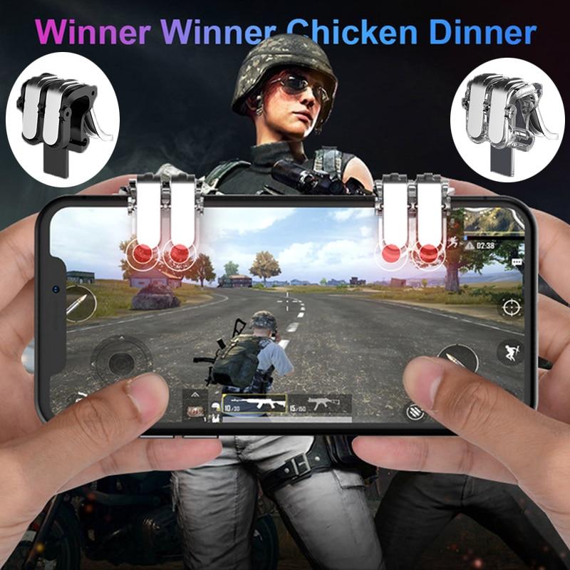 Dzhostik L1R1 Pubg Controller Mobile Trigger Gamepad
