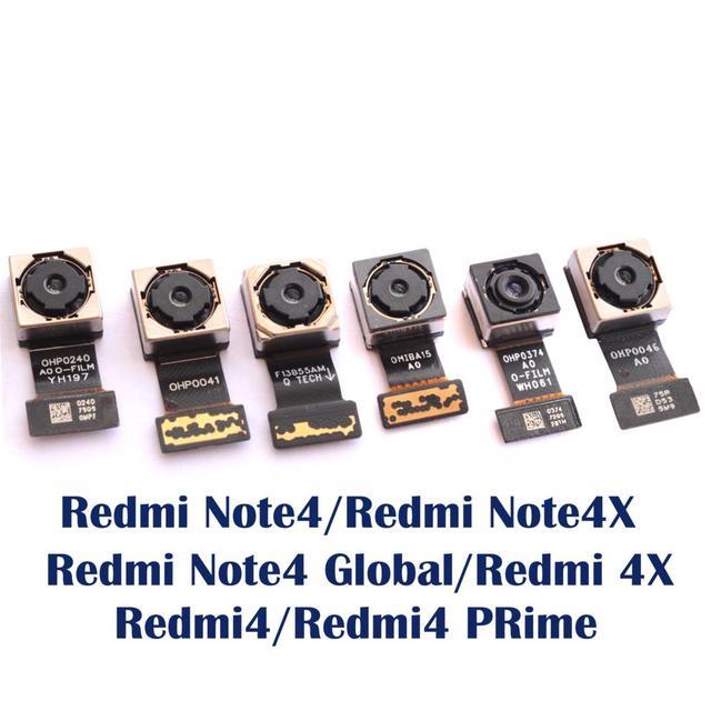 מקורי חדש נבדק חזור אחורי מצלמה להגמיש כבל מודול עבור Xiaomi Redmi 4 פרו ראש Redmi הערה 4 4X הגלובלי/סין/MTK