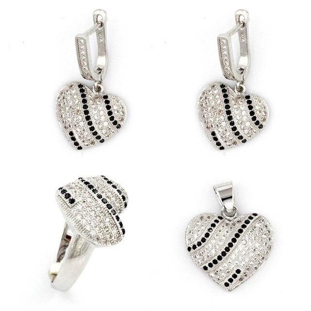 zilveren sieradensets