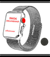 HOYAT 2018 Smart Watch IWO 6 Heart Rate Smartwatch IWO 2 Upgraded With Red Button Gloosy