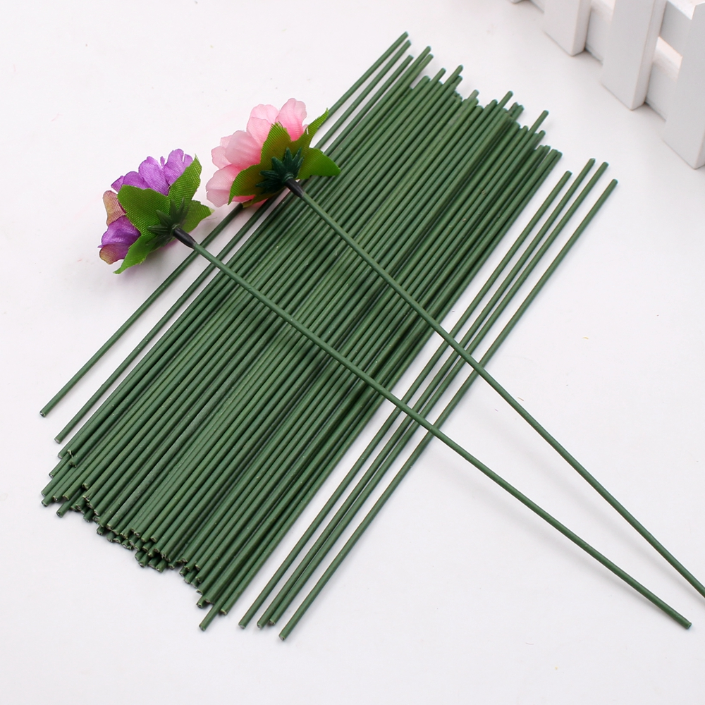 20pcs wire wreath branch DIY wreath supplies flower wedding home decoration mosaic Flores plant bouquet accessories