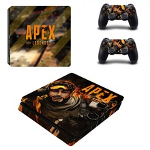 Game APEX Legends PS4 Slim Skin Sticker For PlayStation 4 Console and 2 Controllers PS4 Slim Skins Sticker Decal Vinyl