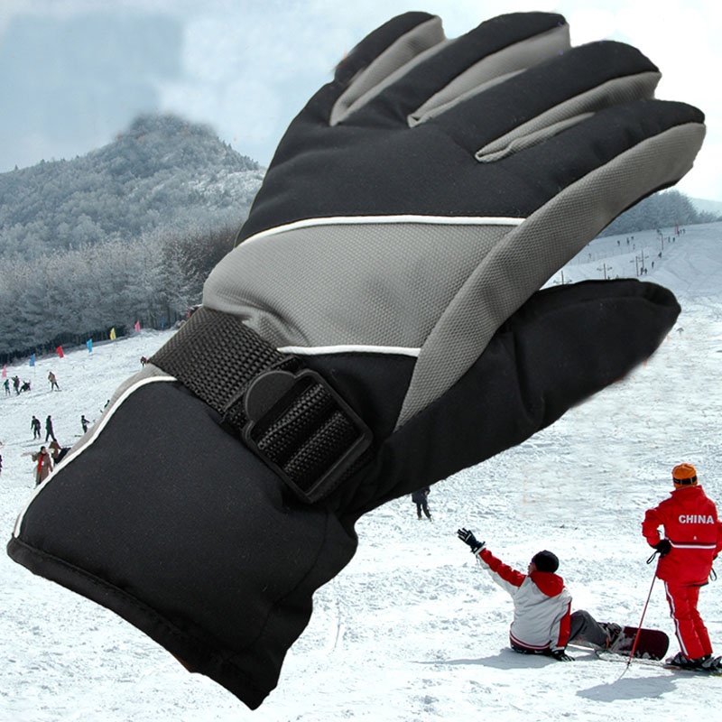 Non-slip Skiing Climbing Cycling Bike Pad Full Finger Sports Gloves