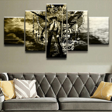 5 Panel Animation Death Note Painting Canvas Wall Art Picture Home Decorative Living Room Printed Modern