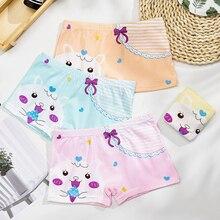 4pcs/lot New Fashion Childrens Panties Girls Underwear Cute Princess Printed Cartoon