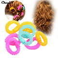 Hot CkeyiN 8Pcs/Lot Beauty Spiral Ringlets Circles Hair Styling Tools Lucky Donuts Curly Hair Curls Roller Hair Accessories HS29