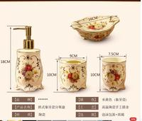Ceramic sanitary ware five suit toilet bathroom articles for use