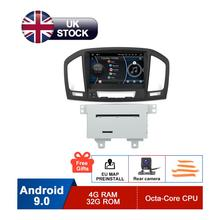8 HD 1024x600 Pure Android Autoradio For Opel Vauxhall Insignia CD300 CD400 DVD GPS Navi Stereo Rear Camera 2GB RAM 32GB Flash