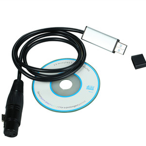 Image 5 - Yiyang Drop Verzending Usb Naar Dmx Interface Adapter Led DMX512 Computer Pc Podium Verlichting Gemakkelijk Controller Dimmer Voor Podium Verlichting