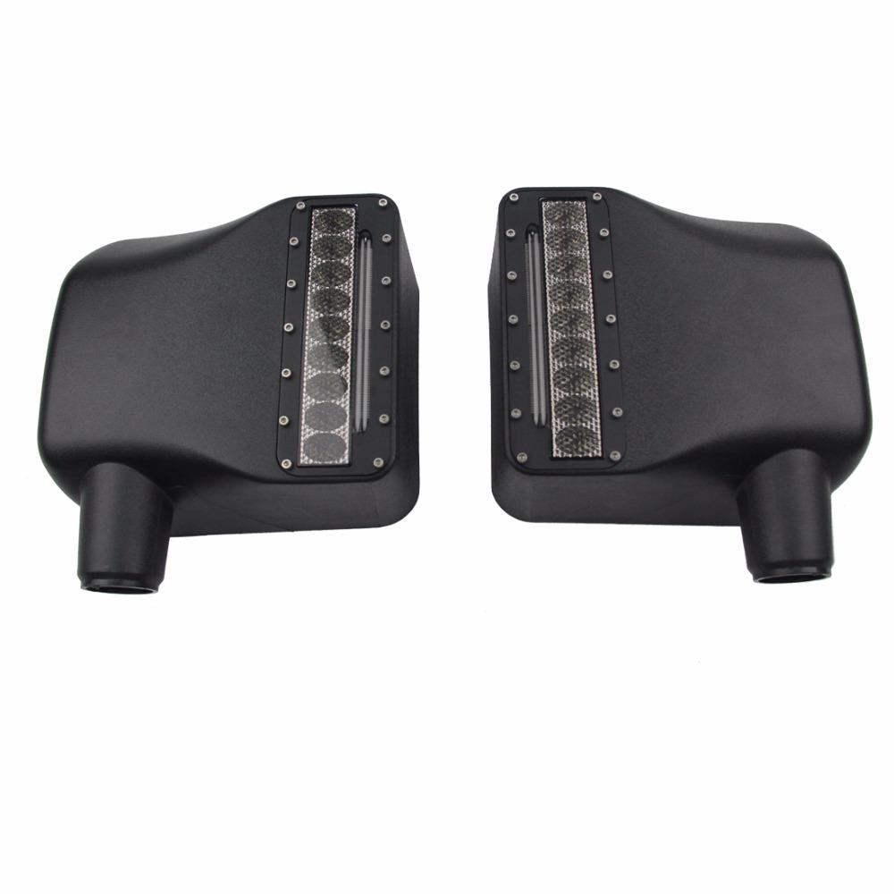 left Right Side View Mirror Kit Rear View Mirror Housing with Turn Signal Light For 2007 - 2016 Jeep Wrangler JK JKU