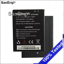 10pcs Battery For Karbonn Ktsp2000 2000mAh Battery Mobile ph